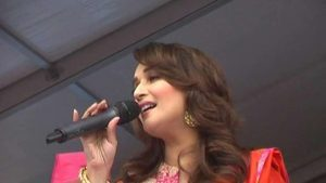 The flexible vocalist and moving diva Madhuri Dixit